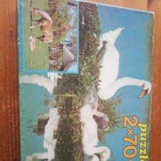 Puzzles: PUZZLE CISNE // CABALLO. Lote 241714210