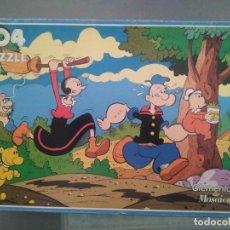 Puzzles: PUZZLE POPEYE CLEMENTONI ANTIGUO DE 104 PIEZAS. Lote 242092875