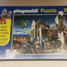 Puzzles: D- PLAYMOBIL PUZZLE CASTILLO . 150 PIEZAS. REFERENCIA 56090. PRECINTADO!!!. Lote 261101745