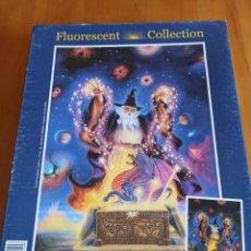 Puzzles: PUZZLE FLUORESCENT COLLECTION, 1000 PIEZAS, CLEMENTONI. Lote 243559690
