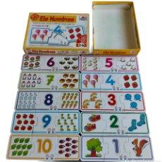 Puzzles: JUEGO ELS NOMBRES EDUCATIUS EN CATALÁ BORRAS . 10 PUZZLES DE 3 PIEZAS, JUEGO PARA APRENDER NOMBRES Y. Lote 244884510
