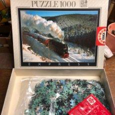 Puzzles: PUZZLE DE 1000 PIEZAS CON FOTOGRAFÍA DE TREN SIN ABRIR. Lote 245157525