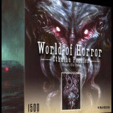 Puzzles: WORLD OF HORROR: PUZZLE CTHULHU - GREAT OLD ONES - RICHARD LUONG - 1500 PIEZAS ***WEIRD PUZZLES***. Lote 248690515