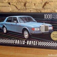 Puzzles: ANTIGUO PUZZLE DREAM CARS: ROLLS ROYCE - NUEVO Y PRECINTADO - SCHMID - 1000 PIEZAS. Lote 252505205