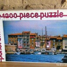 Puzzles: ANTIGUO PUZZLE PANORAMA, DE WHITMAN - IMAGEN SAINT TROPEZ - 1200 PIEZAS - NUEVO. Lote 252506055