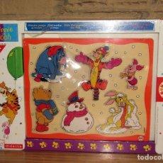 Puzzles: PUZZLE INFANTIL DE WINNIE THE POOH - EDUCA Y DIDACTA - NUEVO Y PRECINTADO. Lote 252610780