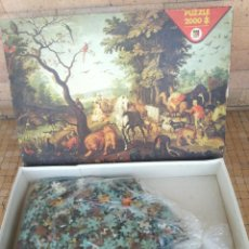Puzzles: ANTIGUO PUZZLE 2000 PIEZAS PAINTING BREUGHEL 98 X 72 CM- MARCA DISET NR.9001 - COMPLETO. Lote 253573340