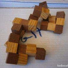 Puzzles: JUEGO TIPO PUZZLE RUBIK DE MADERA. Lote 255640980