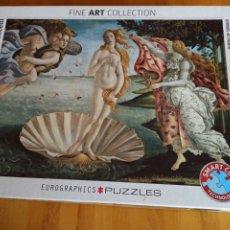 Puzzles: PUZZLE. NACIMIENTO DE VENUS. Lote 258972945