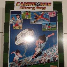 Puzzles: PUZZLE CAMPEONES OLIVER Y BENJI CAPTAIN TSUBASA OLIVER CHUTANDO 1000 PIEZAS. Lote 261793635