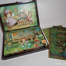 Puzzles: CAJA MADERA PUZZLE CUBES 2030 GARNIER FRANCE. Lote 262377830