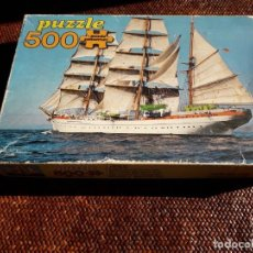 Puzzles: BARCO ESCUELA GOLETA. Lote 262466505