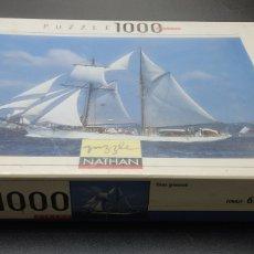 Puzzles: PUZZLE 1000 PIEZAS VELERO DE LA CASA NATHAN. CON EL PRECINTO.. Lote 262579450