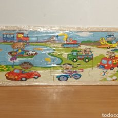 Puzzles: PUZZLE EDUCATIVO MADERA NIÑOS DISFRUTANDO. Lote 263086255