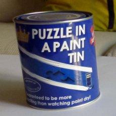 Puzzles: LATA DE PINTURA PUZLE 100 PIEZAS - HCM-KINZEL PUZZLE IN A PAINT TIN. Lote 263266780
