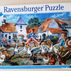 Puzzles: PUZZLE 200 PIEZAS - MARTINA Y SU BICICLETA. Lote 265939298