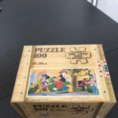 Puzzles: PUZZLE MADERA MICKEY DISNEY EDUCA 83 SIN USAR ANTIGUO. Lote 266360663