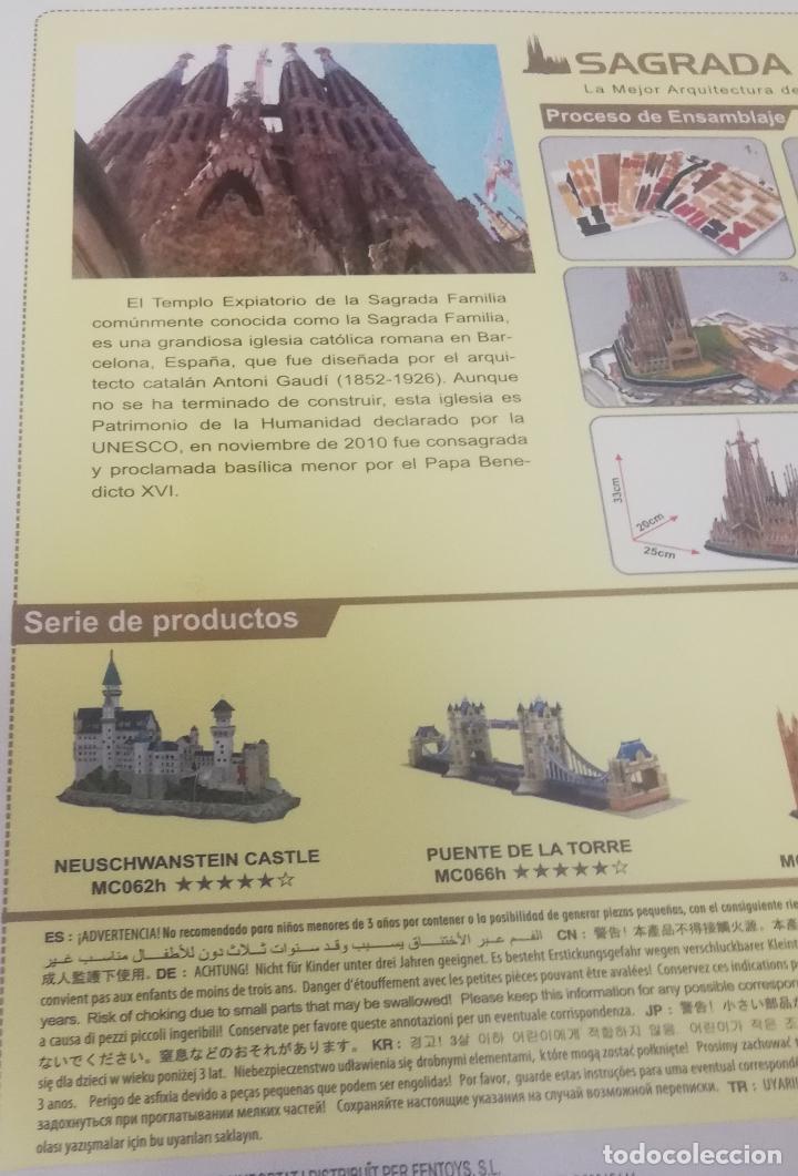 Puzzles: Cubicfun puzzle 3D - La Sagrada Familia - Barcelona - Foto 3 - 269001634