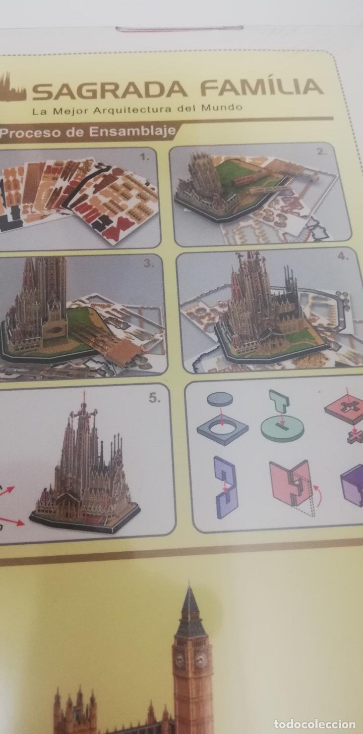 Puzzles: Cubicfun puzzle 3D - La Sagrada Familia - Barcelona - Foto 4 - 269001634