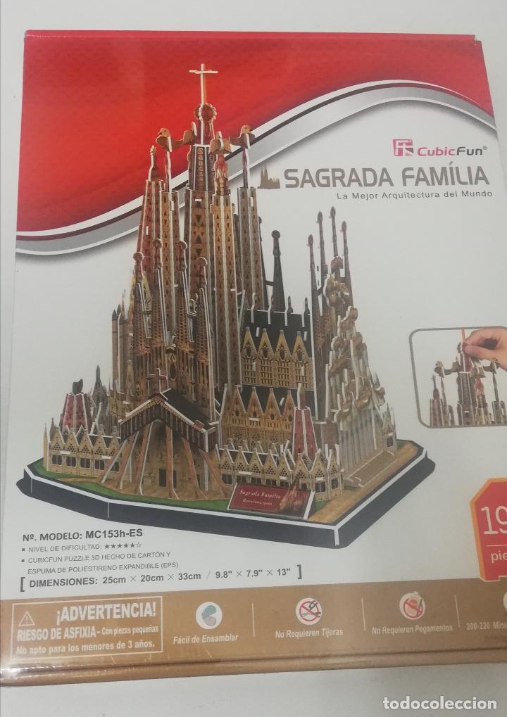 CUBICFUN PUZZLE 3D - LA SAGRADA FAMILIA - BARCELONA (Juguetes - Juegos - Puzles)