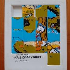 Puzzli: PUZZLE LAVERINTO WALT DISNEY - PATO DONALD. Lote 269730288