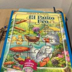 Puzzles: LIBRO CON 4 GRANDES PUZZLES. Lote 269821433