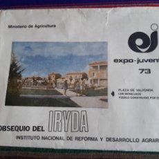 Puzzles: PUZZLE EXPO JUVENTUD 73 MINISTERIO DE AGRICULTURA IRYDA INSTITUTO NACIONAL REFORMA Y DESARROLLO...... Lote 270883103