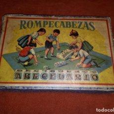 Puzzles: ANTIGUO ROMPECABEZAS ABECEDARIO PRINCIPIOS SIGLO XX. Lote 275115063