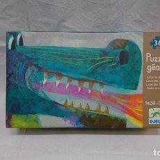 Puzzles: PUZZLE GIGANTE, DJECO, LEÓN EL DRAGON. Lote 278323703