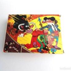 Puzzles: MORTADELO Y FILEMON - PUZZLE OBSEQUIO BONUX Nº 1 - EN CAJA COMPLETO. Lote 254460860
