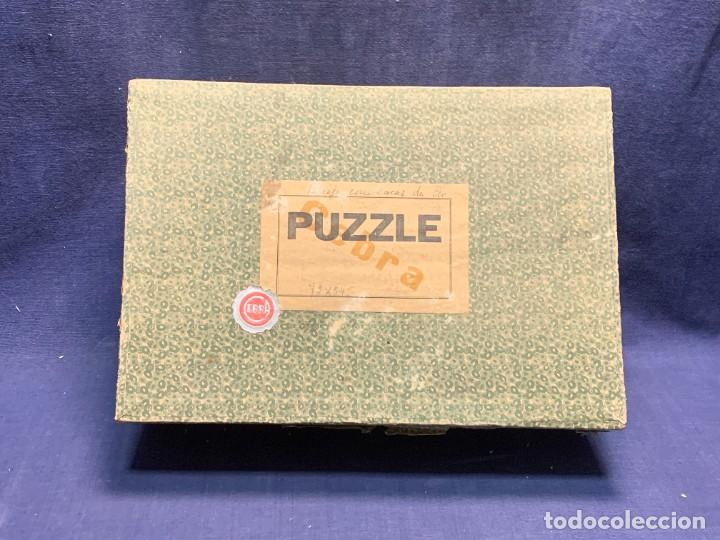 PUZZLE PAISAJE CON VACAS 1300 PIEZAS MARCA CEBRA MADERA 22X31X10CMS (Juguetes - Juegos - Puzles)