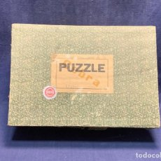 Puzzles: PUZZLE PAISAJE CON VACAS 1300 PIEZAS MARCA CEBRA MADERA 22X31X10CMS. Lote 284092088