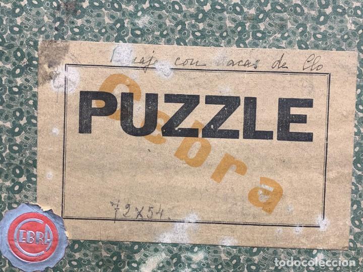 Puzzles: PUZZLE PAISAJE CON VACAS 1300 PIEZAS MARCA CEBRA MADERA 22X31X10CMS - Foto 2 - 284092088