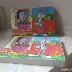 Puzzles: ANTIGUO PUZZLE BUGGS BUNNY DE MB. Lote 288337423