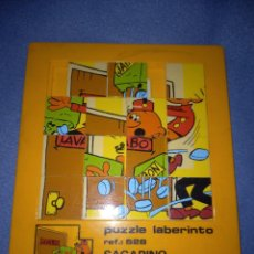 Puzzles: PUZZLE LABERINTO REF 528 SACARINO JUEDSA PUZLE GRANDE.. Lote 288999358