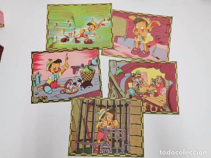 Puzzles: PUZZLE DE PINOCHO.CUBOS DE CARTON, GRAFICAS HAMBURG, BARCELONA. - Foto 5 - 289293813