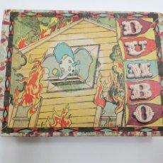 Puzzles: PUZZLE DE DUMBO, CUBOS DE CARTON. GRAFICAS HAMBURG, BARCELONA.. Lote 289293903