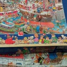 Puzzles: MAGNÍFICO PUZZLE 1500 PIEZAS. DEL DIBUJANTE JAN VAN HAASTEREN. COMPLETO. PIEZAS EN PERFECTO ESTADO.. Lote 289914453