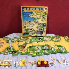 Puzzles: PUZZLE SAFARI ZOO +UN PEQUEÑO COCHE ,VER FOTOS. Lote 291975958