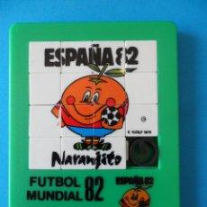 Puzzles: PUZZLE ROMPECABEZA NARANJITO - MUNDIAL 82. R.F.E.F.1979 -LIC IBERMUNDIAL. Lote 292334488