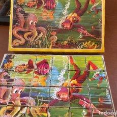 Puzzles: ANTIGUO ROMPECABEZAS DE CUBOS PLAVEN REF 804. Lote 293567163
