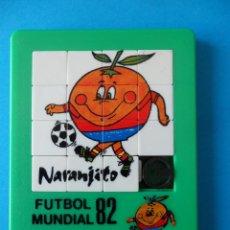 Puzzles: PUZZLE ROMPECABEZA NARANJITO - MUNDIAL 82.- COMERCIAL 82 - LIC IBERMUNDIAL. Lote 293644833
