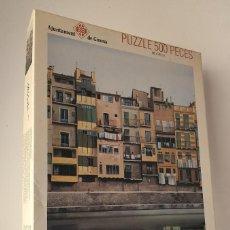 Puzzles: AYUNTAMENT DE GIRONA *** PUZZLE 500 PECES *** VICENTE HUEDO DIAZ-CARRASCO. Lote 294377048
