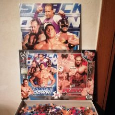 Puzzles: PUZZLE COMPLETO - WWE SMACKDOWN RAW - FISHTANK - LUCHA LIBRE - WRESTLING. Lote 294506743