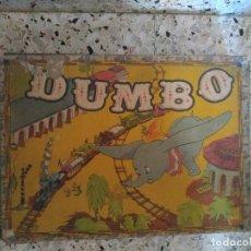 Puzzles: ANTIGUO ROMPECABEZAS DUMBO DE CARTON - AÑOS 40 - WALT DISNEY. Lote 294815298