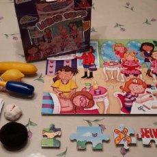Puzzles: PUZZLE DE 45 PIEZAS BEAUTY SALON DE GRAFIX MÁS ALGÚN JUGUETE SUELTO Y COLETEROS. Lote 294969818