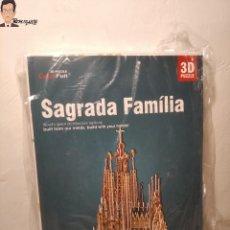 Puzzles: LA SAGRADA FAMILIA - PUZZLE 3D (3 DIMENSIONES) MARCA: CUBIC FUN - PUZLE 3 D (A ESTRENAR). Lote 295341793