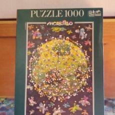 Puzzles: MORDILLO. PUZZLE 1000 PIEZAS. PLANETA FÚTBOL. NUEVO. AÑO 2002. Lote 295814583