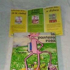 Puzzles: ANTIGUO ROMPECABEZAS PUZZLE CÓMIC LA PANTERA ROSA + CATÁLOGO DISTEIN, AÑOS 70. COMPLETO.. Lote 296764548