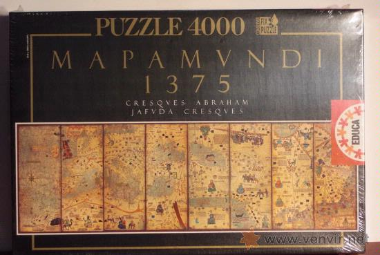 educa 7976 puzzle 4000 piezas mapa mundi de 13  Comprar Puzzles